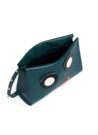 - A-Esque - 'Box Clutch 02 E-Motion' leather bag