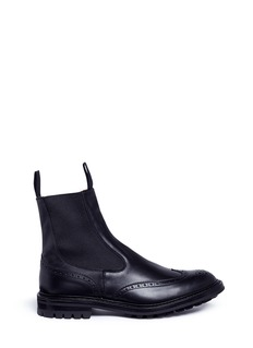 Tricker's 'Henry' brogue leather Chelsea boots