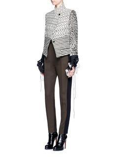 Haider AckermannDiamond stripe jacquard jacket