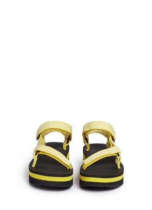 Teva-'Flatform Universal' candy stripe print sandals