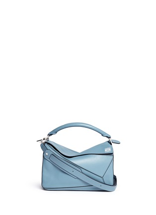 Main View - Click To Enlarge - Loewe - 'Puzzle' calf leather bag