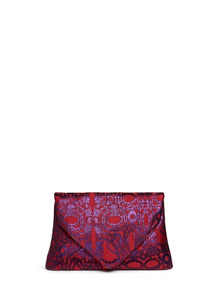 Main View - Click To Enlarge - Dries Van Noten - Vintage jacquard envelope clutch