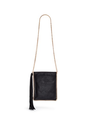Back View - Click To Enlarge - Stella McCartney - 'Falabella' crossbody flat chain bag