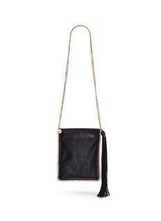 Stella McCartney'Falabella' crossbody flat chain bag