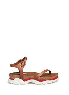 STELLA MCCARTNEY'Canyon' chunky cork foam sole sandals