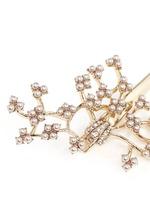 'Jackie' glass seed pearl vine hair clip