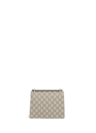 Back View - Click To Enlarge - Gucci - Dionysus' mini GG monogram leather shoulder bag