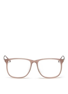 LINDA FARROWMetal temple optical glasses