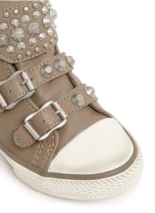 细节 - 点击放大 - ASH - Frog幼儿款铆钉搭带高筒运动鞋