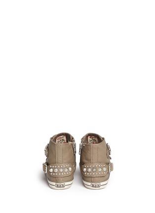 背面 - 点击放大 - Ash Kids - Frog幼儿款铆钉搭带高筒运动鞋