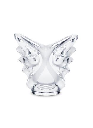 Lalique-Tourbillons oval vase