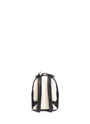 Back View - Click To Enlarge - Valentino - 'Rockstud' mini colourblock backpack