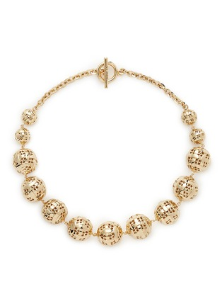 Main View - Click To Enlarge - ST. JOHN - Disco ball necklace