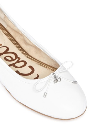 Detail View - Click To Enlarge - Sam Edelman - Felicia' leather ballet flats