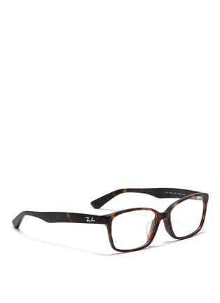 Figure View - Click To Enlarge - Ray-Ban - Frosted plastic optical glasses