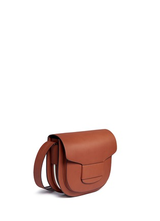 Detail View - Click To Enlarge - Tory Burch - 'Modern Buckle' leather saddle bag