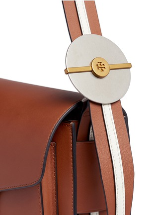 - Tory Burch - 'Modern Buckle' leather saddle bag