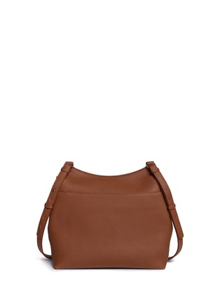 Detail View - Click To Enlarge - The Row - 'Sideby' medium leather messenger bag