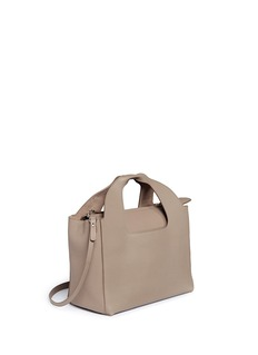 The Row'Two for One 12' leather tote and pouch