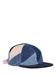 ALBUMPinwheel拼接设计纯棉棒球帽