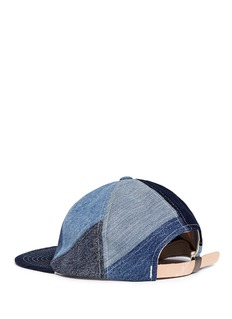 Album 'Pinwheel' patchwork denim baseball cap