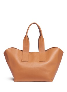 A-Esque'Carry All' reversible nappa leather tote
