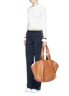 A-Esque 'Carry All' reversible nappa leather tote