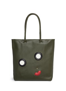 A-Esque 'Midi E-Motion 03' appliqué leather tote