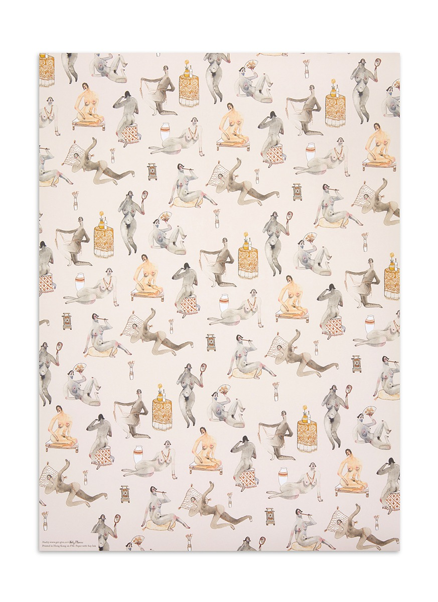 Nudity print wrapping paper by get.give