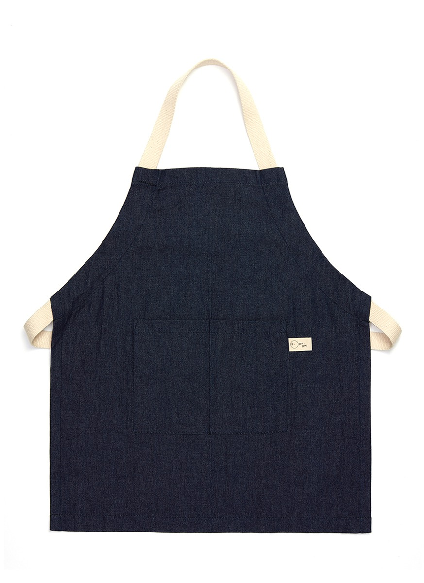 Denim kids apron by get.give