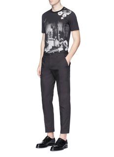 Dolce & GabbanaRose photograph print T-shirt