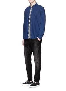 Denham'Tokyo Apex' 2-year wash carrot jeans
