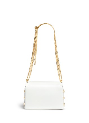 Jimmy Choo - 'Lockett Petite' curb chain leather shoulder bag