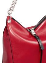 'Raven' small leather shoulder bag