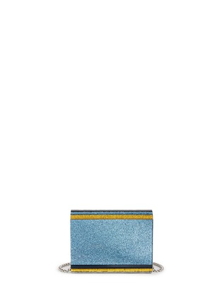 Back View - Click To Enlarge - Jimmy Choo - 'Candy' glitter paillette acrylic clutch