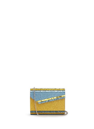 Main View - Click To Enlarge - Jimmy Choo - 'Candy' glitter paillette acrylic clutch