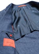 'Cortina' herringbone wool blazer