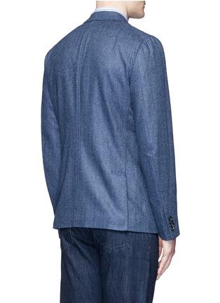 ISAIA-'Cortina' herringbone wool blazer