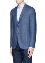 'Cortina' herringbone wool blazer