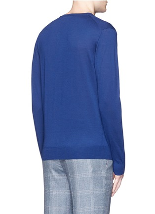Back View - Click To Enlarge - ISAIA - Extra fine Merino wool sweater