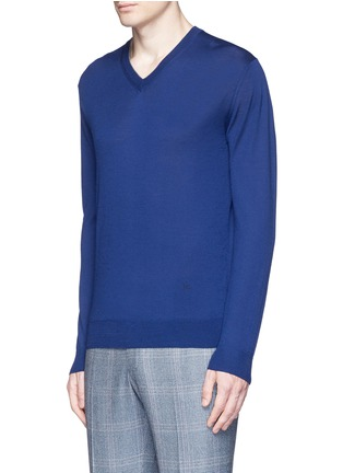 Front View - Click To Enlarge - ISAIA - Extra fine Merino wool sweater