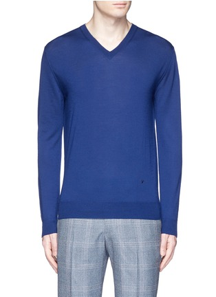 Main View - Click To Enlarge - ISAIA - Extra fine Merino wool sweater