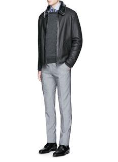 ISAIA'Milano' check cotton shirt