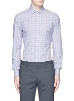 'Parma' check cotton shirt