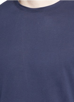 Detail View - Click To Enlarge - ISAIA - Silk-cotton blend T-shirt