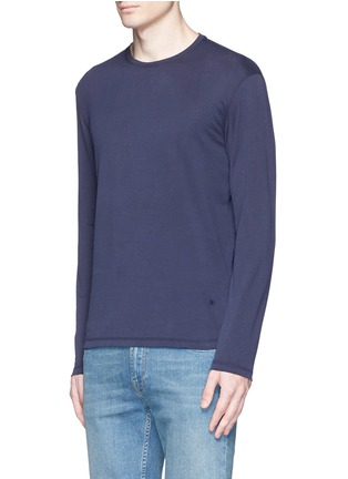 Front View - Click To Enlarge - ISAIA - Silk-cotton blend T-shirt