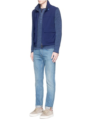 Figure View - Click To Enlarge - ISAIA - Silk-cotton blend T-shirt