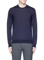 Cashmere-silk sweater