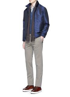 ISAIAAquaspider blouson jacket