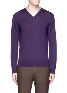 ISAIAExtra fine Merino wool sweater